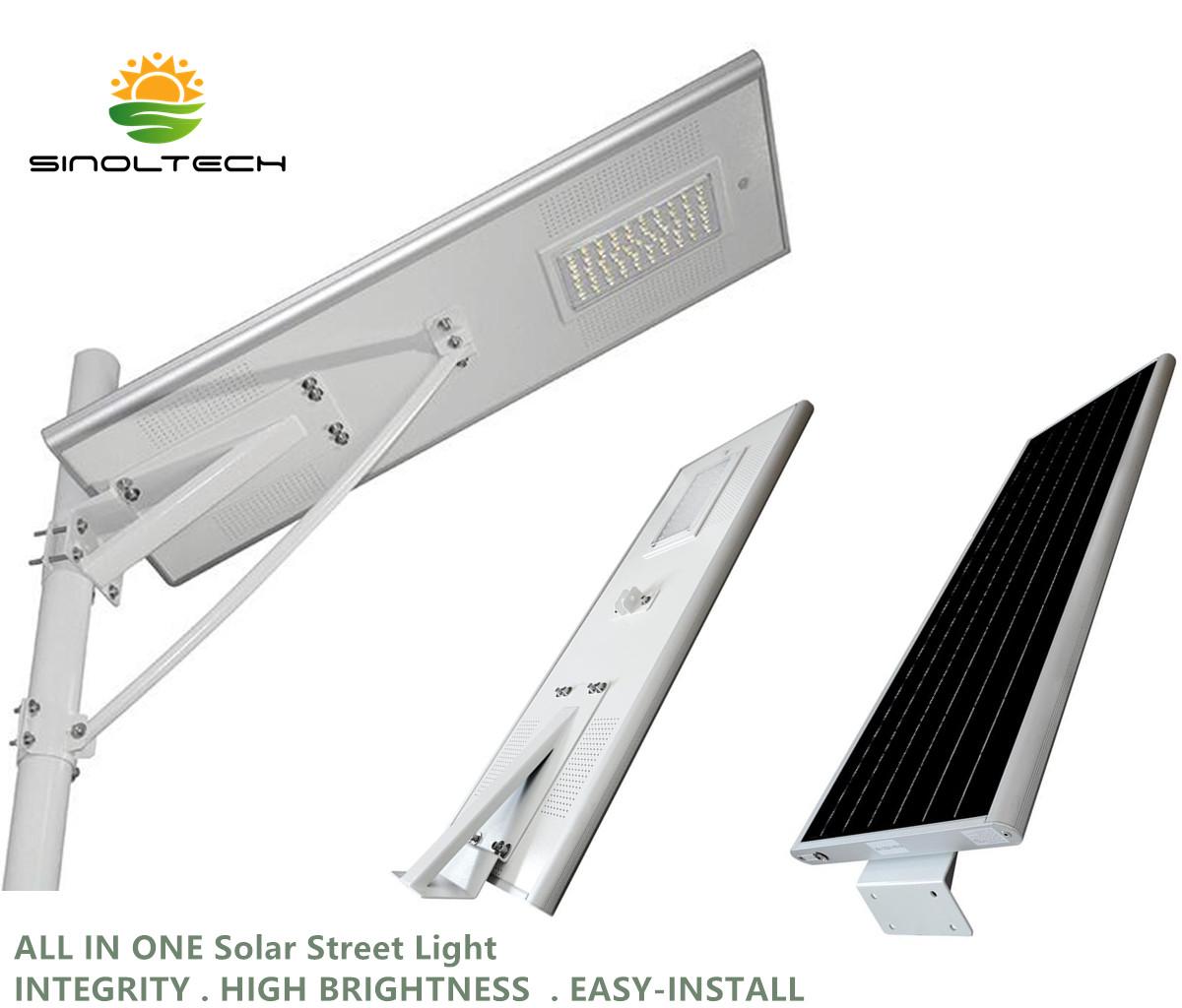 All In One Solar Street Light Buy Cheap Led Powered Integration