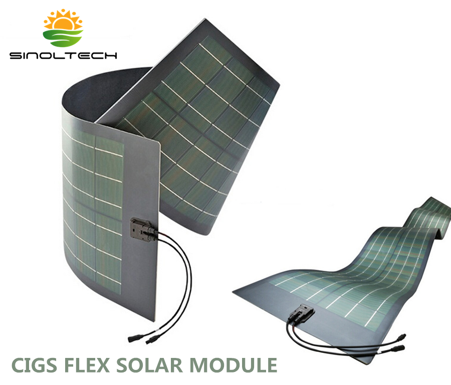 cigs flexible solar module. Black Bedroom Furniture Sets. Home Design Ideas