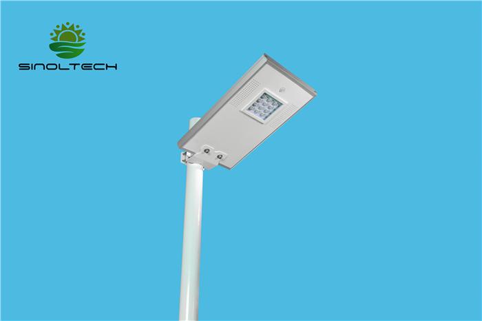 12W solar led garden lamp