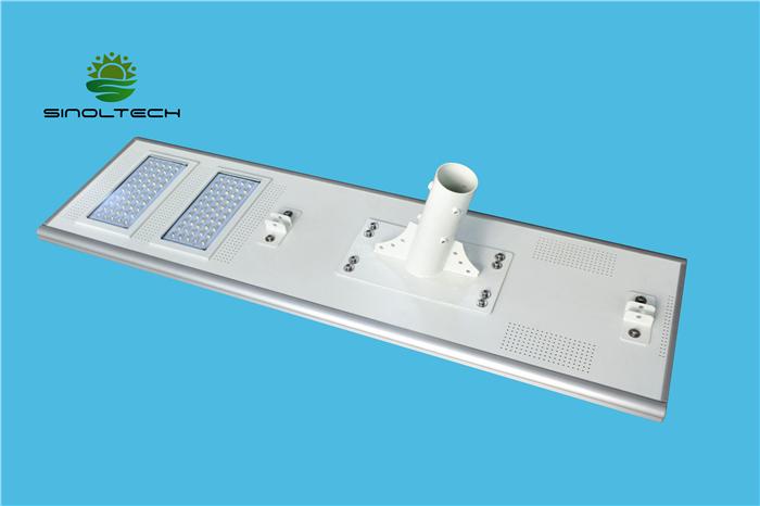 120W all in one solar street light