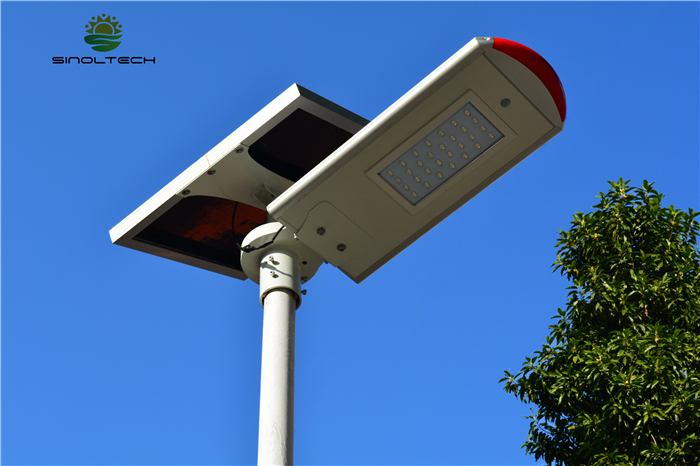 split type solar street light