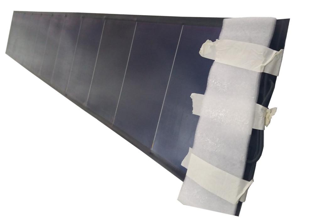 72W flexible solar laminate