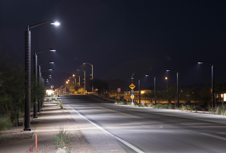 flexible solar panel for street light
