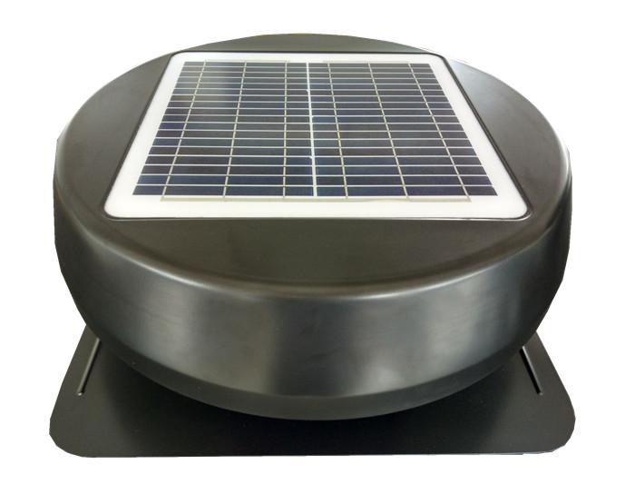FIX solar panel power exhaust fan