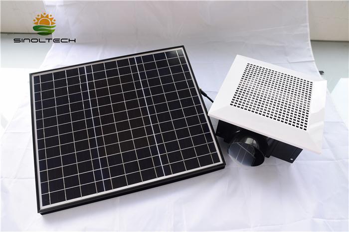 Solar air blower