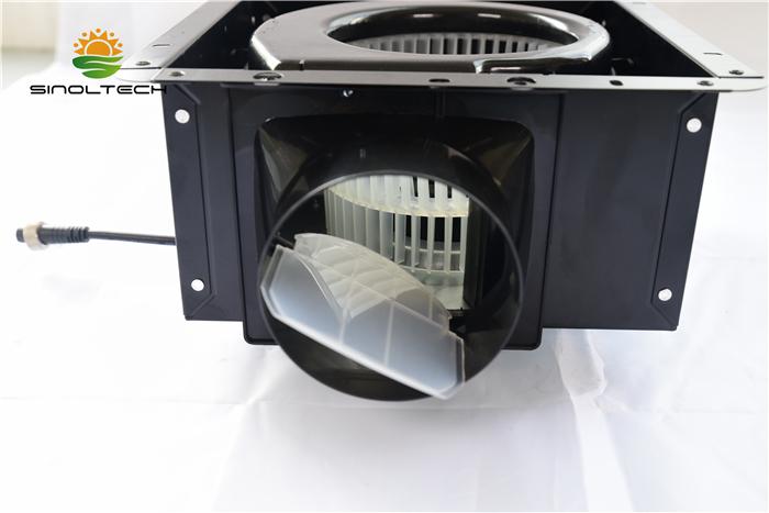 solar centrifugal air blower