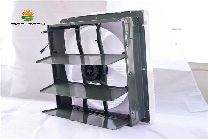 plastic solar indoor exhaust fan