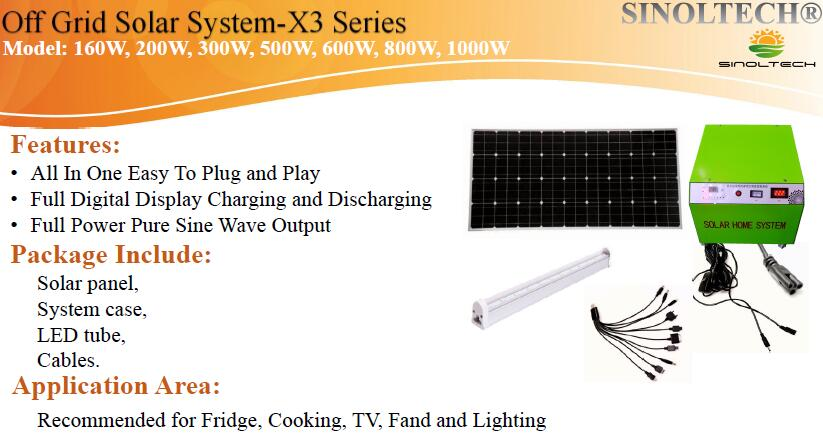 solar power system for remote area