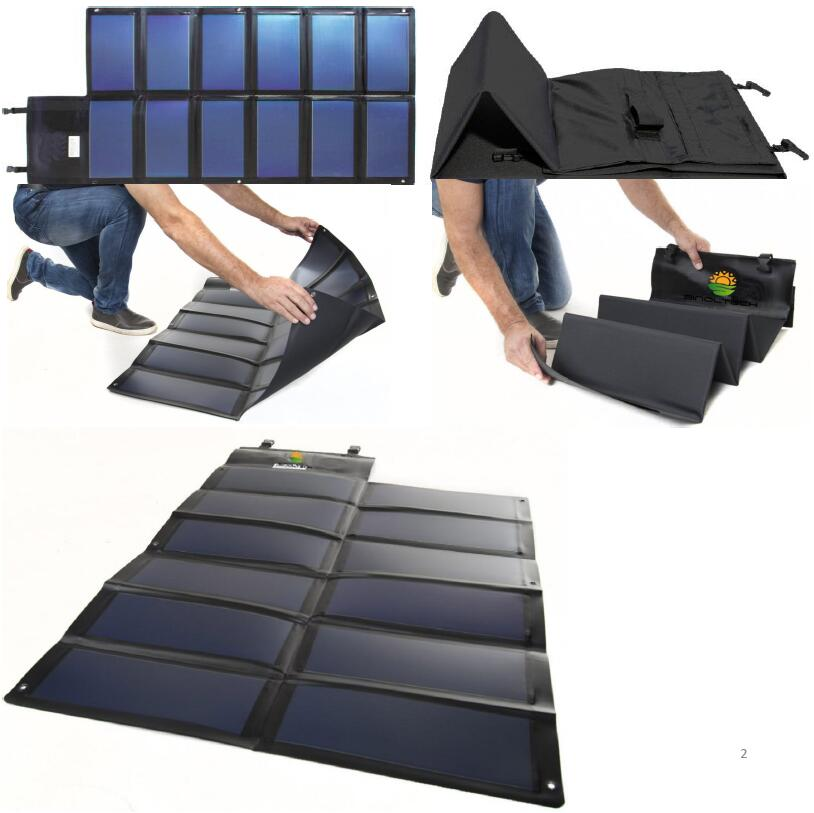 thin film solar charger