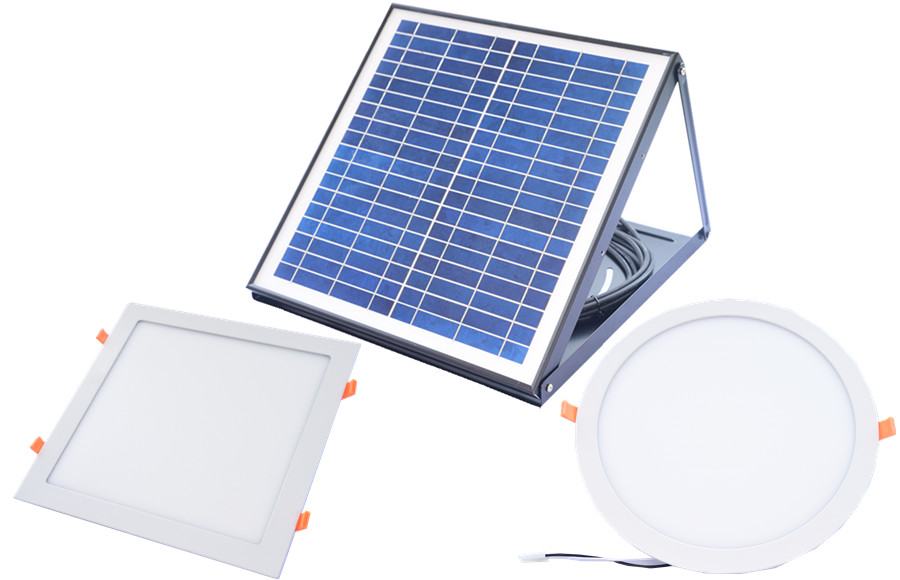 solar led panel ceiling light