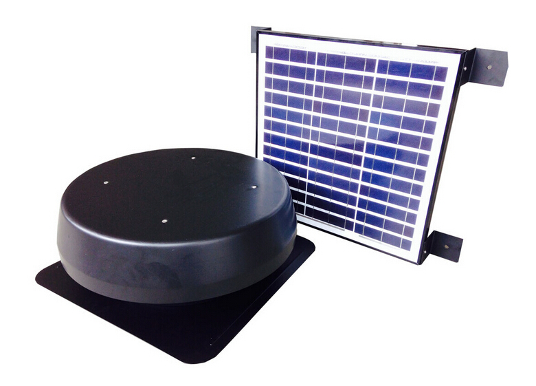 solar roof attic fan