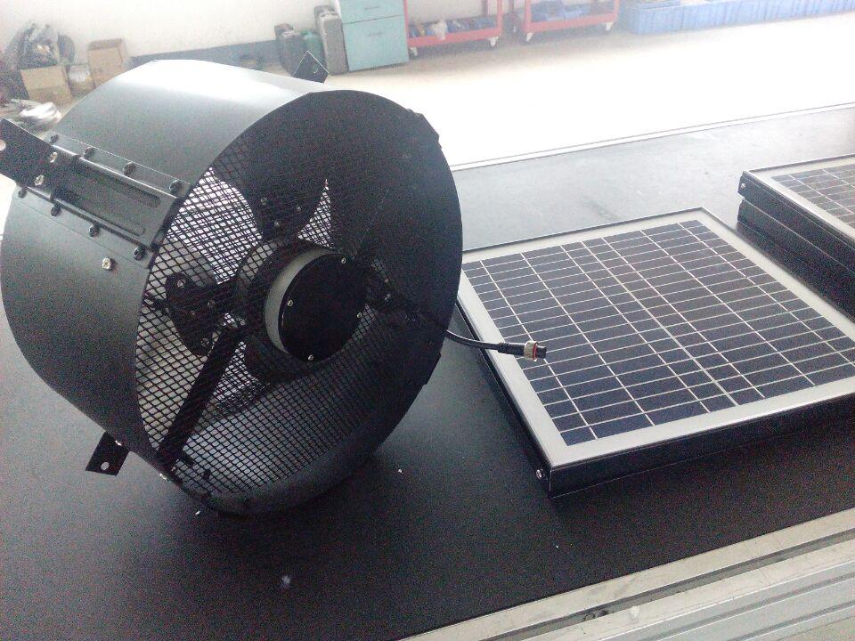 15w Solar Pv 12 Inch Wall Mount Gable Fan