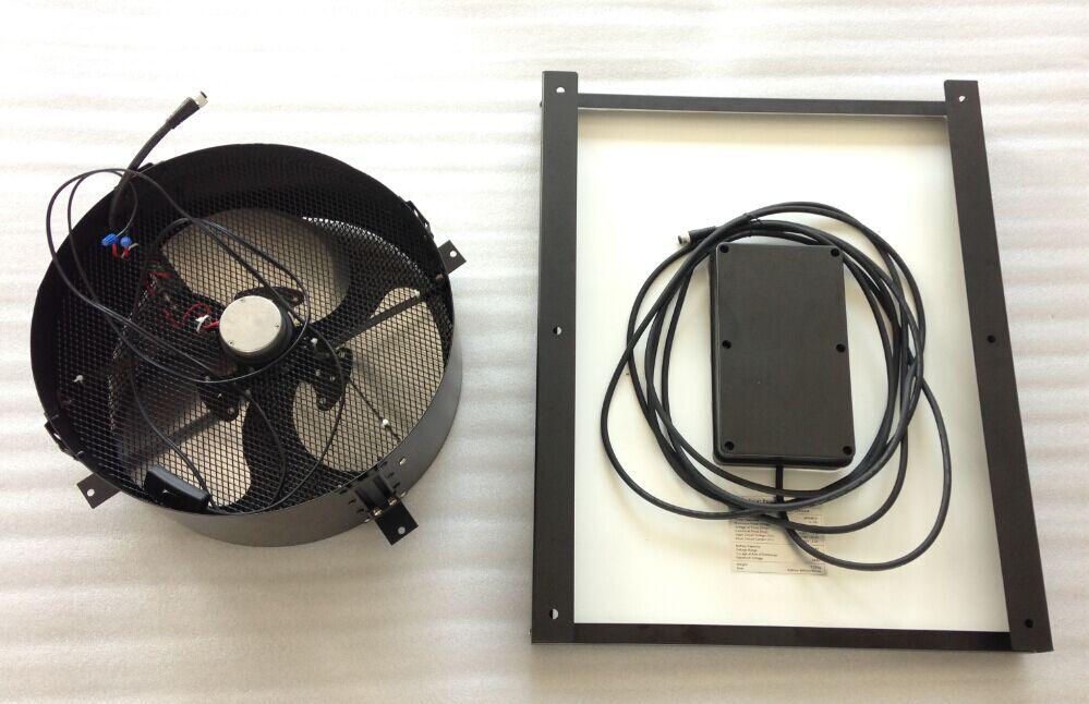 wall mount solar ventilator