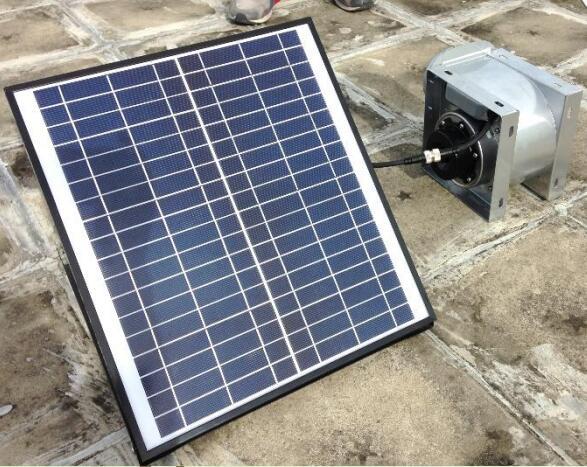 ceiling solar air blower