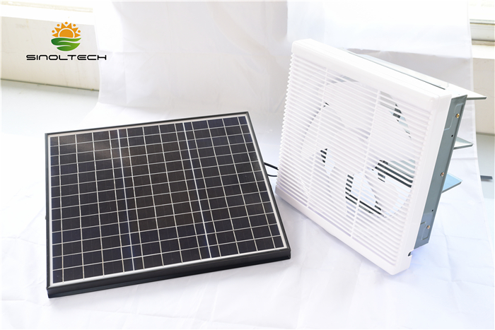 indoor solar ABS plastic fan