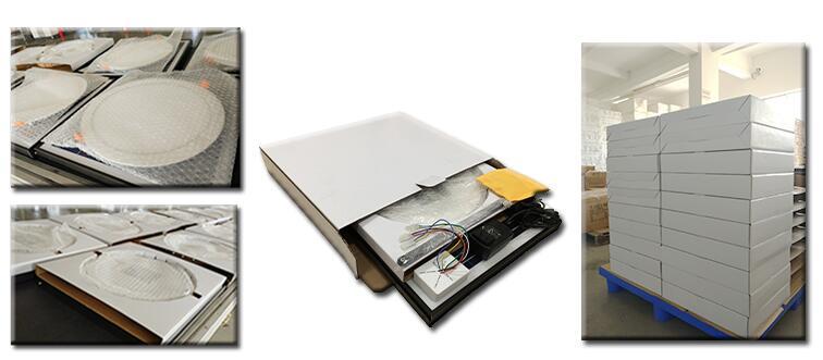 package for solar led ceiling light