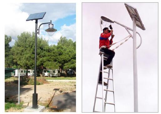 régulateur d'éclairage solaire