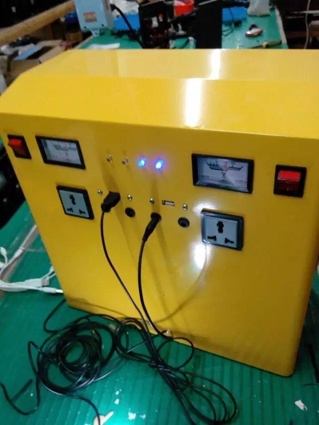 Portable AC solar system