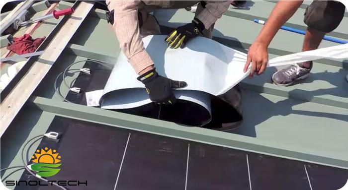peel and stick flexible solar panel