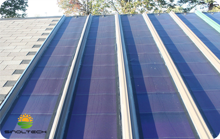 Flexible Pv For Metal Roofing System