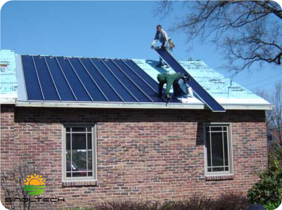 thin film flex pv for residential roofing