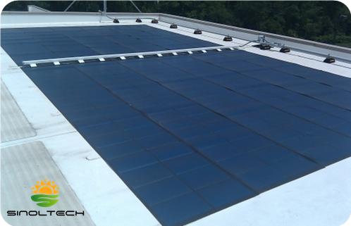 PV Solar flex landfill system