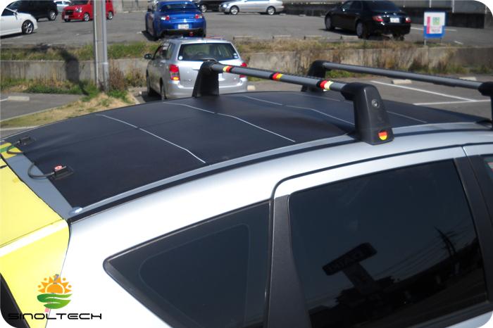 flexbile solar panel for car roof
