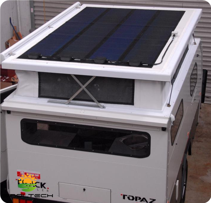 flexible PV for RV roof