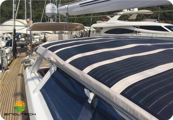 CIGS flex module for boat