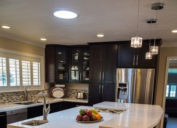 round led skylight