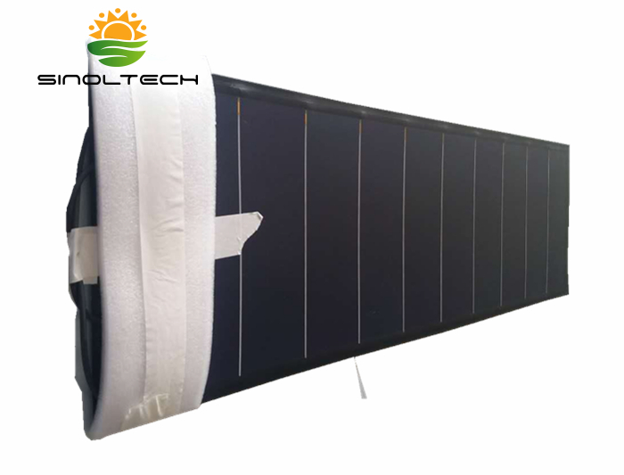 33W flexible solar panel
