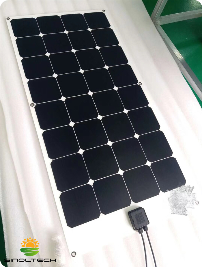 115W semi flexible solar pv panel