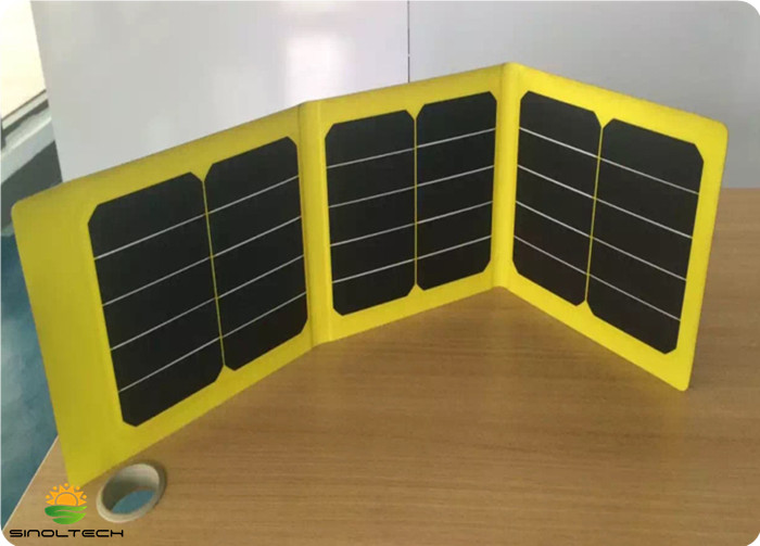32W ETFE laminate foldable solar charger