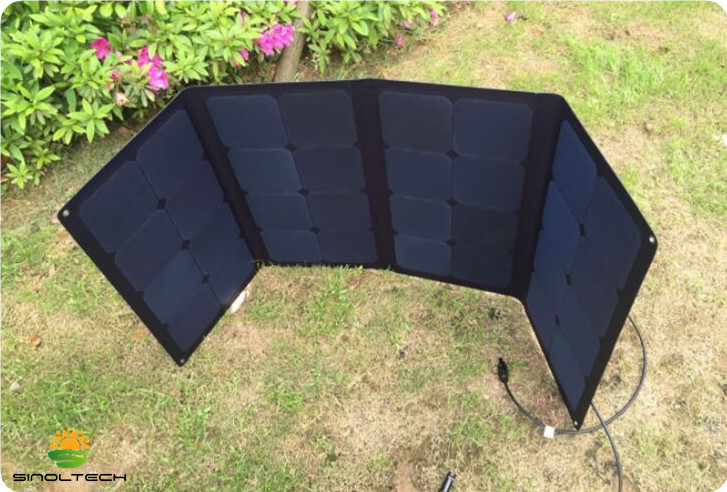 ETEFE laminate sunpower folding PV panel