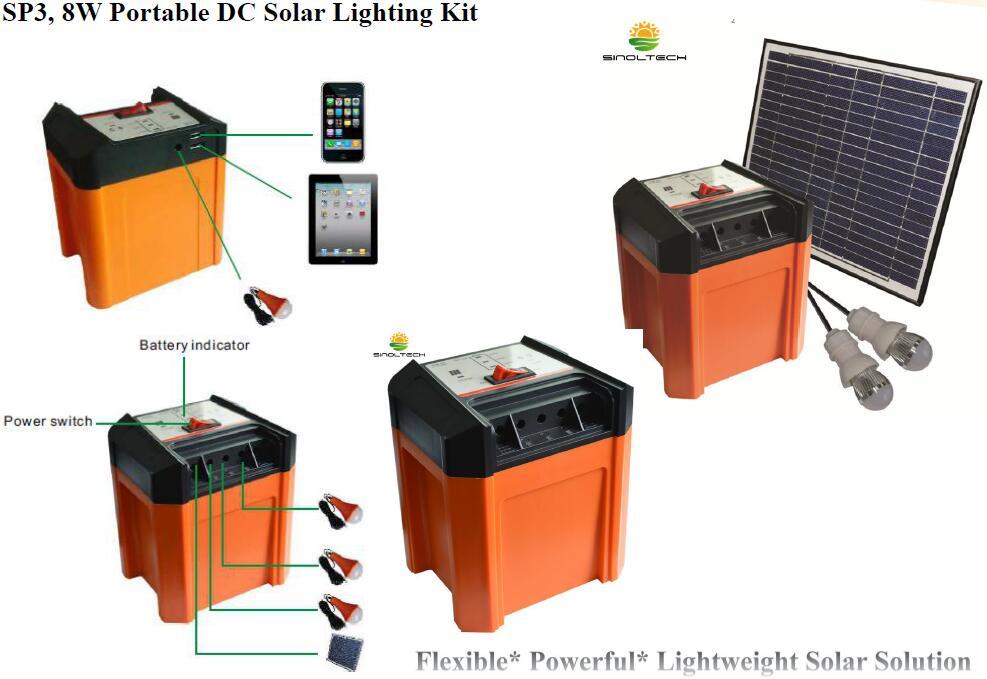 SP3 Portable solar system