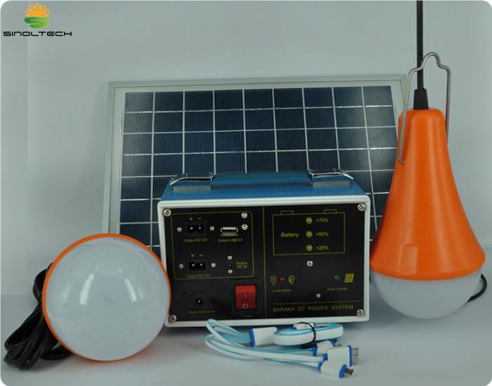 10W Portable DC Solar generator