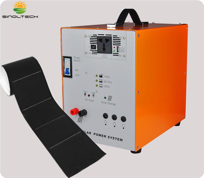 optional with flex solar panel AC system