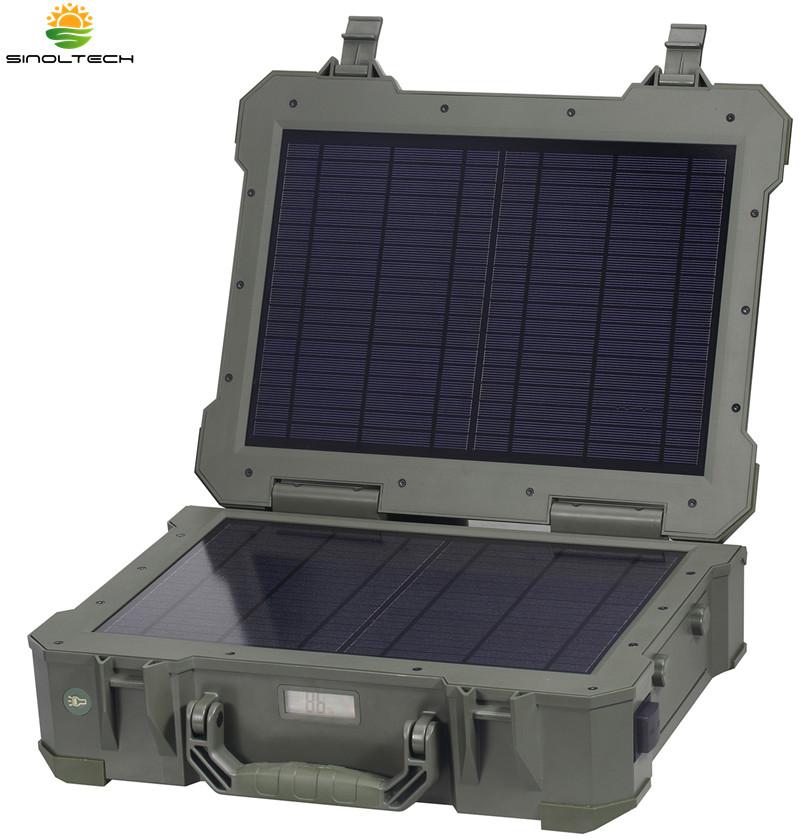 portable solar generator 20W built-in lithium bat