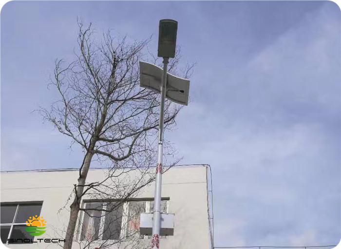semi flexible solar panel for street lights