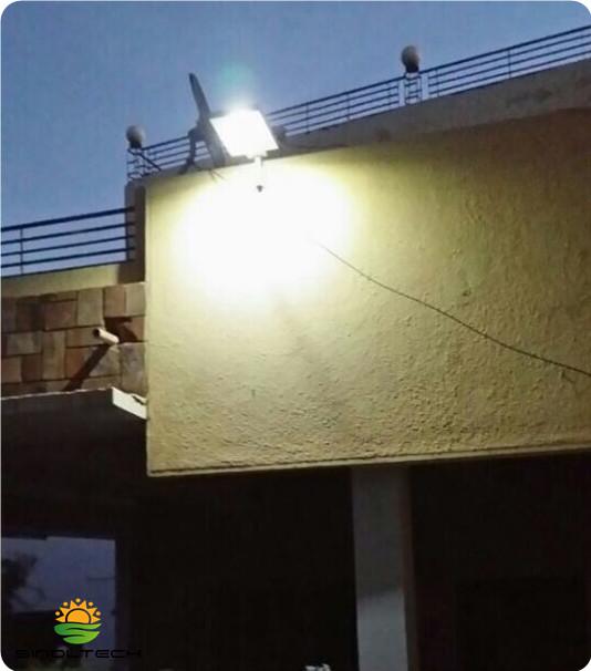 12W Solar garden lamp
